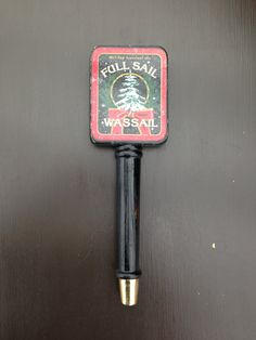 Vintage Full Sale Wassail Holiday Seasonal Ale Tap Handle
