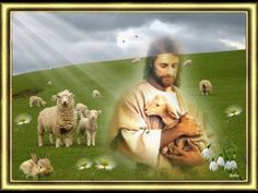 Radosnych Świąt Wielkanocnych - YouTube Jesus Christ Images, Holy Quotes, Lamb, Animation, Make It Yourself, Cute, Easter, Angel, Watch