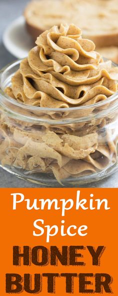 Pumpkin Spice Honey Butter Pumpkin Spice Honey Butter - Coco and Ash Pumpkin Recipes, Fall Recipes, Holiday Recipes, Pumpkin Spread Recipe, Honey Recipes, Cinnamon Butter, Honey And Cinnamon, Pumpkin Butter, Butter Pecan