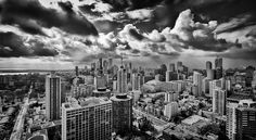 Toronto under Clouds