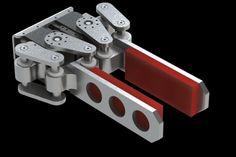 4-Bar Linkage Gripper (with Dynamixel RX-64) - SOLIDWORKS - 3D CAD model - GrabCAD