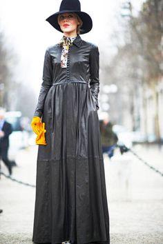 Fall 2013 Milan Fashion Week Street Style - Milan Street Style Fall 2013 - ELLE