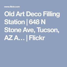 Old Art Deco Filling Station Photoshop Black And White, Filling Station, Color Profile, Art Deco Era, Old Art, White Image, Stone, Rock, Batu