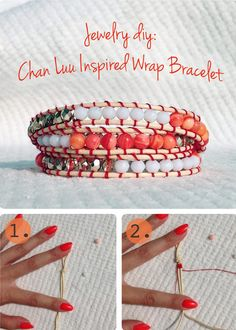 This TUTORIAL Is Inspired By The Great Artist Chan Luu, Master In DIY Jewelry!
