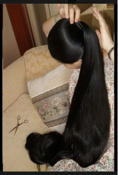 Banana clip ponytail. This hairstyle, which is highly popular, static safe and common, in India, but pics. are very rarely found on the net. If you have access to more pic.s of this kind of ponytail, please share them with me.