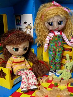 #amigurumi dolls