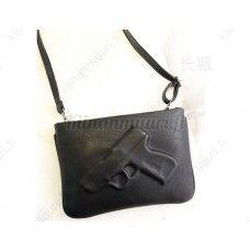 PU nahkainen laukku Pistooli, eri värivaihtoehtoja
