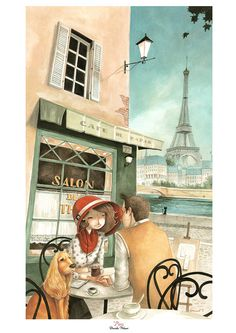 Print Paris by DanielaVolpari on Etsy, €16.00
