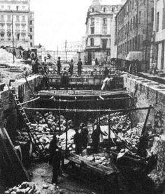 Canalización Río San Francisco excavaciones