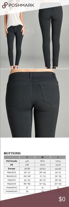 🆕stretchy black pants Black skinny jeans with a ton of stretch which makes them super comfy! Jeans Skinny