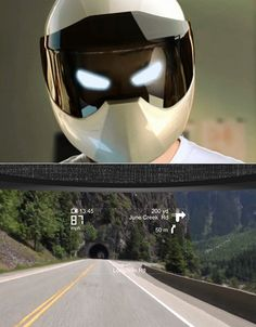You Won't Believe What This Futuristic Motorcycle Helmet Has Inside of It