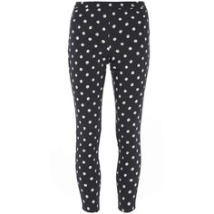 5cefa479a8 Dorothy Perkins Daisy Print  Lyla  High Waisted Tube Pants ( 26) ❤ liked on  Polyvore featuring pants