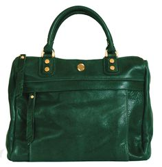 Avery Satchel Emerald Corrente Handbags Leather And Purses Made Locally In Nyc