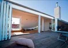 Lacuna Foldedører | Verdens beste foldedør | Dører laget på spesialmål. | Frekhaug Trevare AS