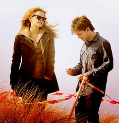 Harry and Hermione <3. Muggle time!