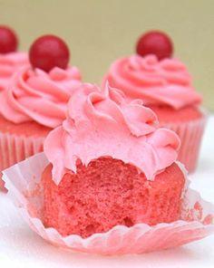 Atomic Fireball Cupcakes