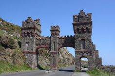 The old toll gate, Marine Drive, Douglas , Isle Of Man. Photo by Nick Barker