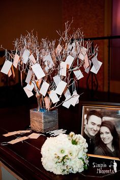 Wishing Tree :) My fiance and I made a wish for our marriage on the real life wishing tree in Washington D.C. - at our wedding, we'll ask our guests to make a wish for us :)