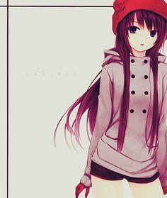 Anime - Garota de Boina Vermelha