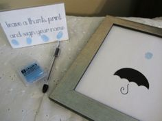 "Homemakin and Decoratin: ""Rain Shower"" Baby Shower"