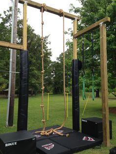30 DIY Backyard Ideas On a Small Budget Backyard gym