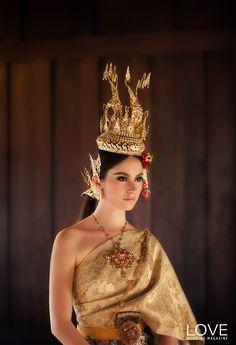 Thai Traditional dress .
