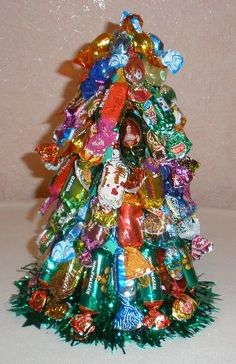 Christmas Crafts  Candy Christmas Tree.