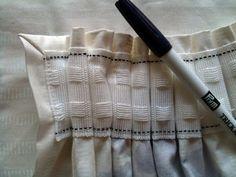 Glorious Make Rod Pocket Curtains Ideas. Enchanting Make Rod Pocket Curtains Ideas. Thick Curtains, No Sew Curtains, Rod Pocket Curtains, Lined Curtains, Modern Curtains, Blackout Curtains, Sewing Courses, Curtain Length, Love Sewing