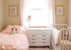 Shared Girl Room Custom Silhouette Five Marigolds
