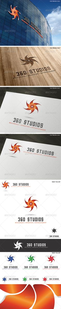 360 Studios Logo Template - Vector Abstract https://graphicriver.net/item/360-studios-logo-template/4096252?ref=231267