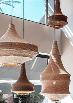 At Hamimi we offer a fresh take on Moroccan design. Explore our current lighting collection. Lamp Design, Cool Lighting, Lamp, Pendant Chandelier, Lights, Beautiful Lighting, Bamboo Light, Diy Lamp, Vintage Interiors