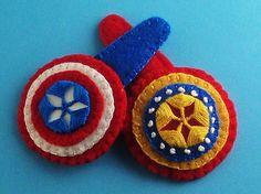 Superhero Barrettes - JEWELRY AND TRINKETS