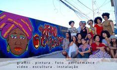 A Galeria Scenarium é palco de mais uma exposição de arte urbana brasileira. Com curadoria da artista Panmela Castro, que expôs recentemente sua obra 'Eva', a mostra coletiva #AfroGrafiteiras aborda