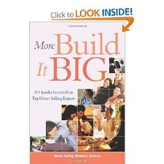 More Build It Big is the sequel and smart companion to Build it Big. In this new handbook, industry leaders deliver straightforward advice, cutting-edge insights, and best practices to help direct sellers and distributors become sales superstars. Up-to-the-minute stories from top salespeople, profiles of leading distributors, and the latest how-to's on networking, party planning, and person-to-person selling make this book a key addition to the direct seller's reference shelf.