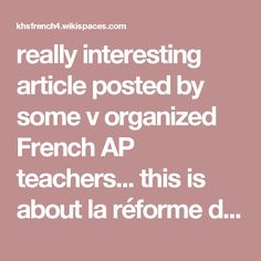 really interesting article posted by some v organized French AP teachers... this is about la réforme du travail bu has lots of definitions of items like CDD, CDI, etc. khsfrench4.wikispaces.com file view La%20re%CC%81forme%20articles%20et%20dessins.pdf 580179961 La%20re%CC%81forme%20articles%20et%20dessins.pdf