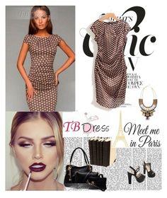 """""""TBDRESS 1/26"""" by antonija2807 ❤ liked on Polyvore featuring moda, WallPops, dress, women y tbdress"""