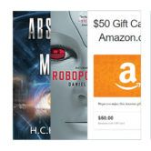 Science Fiction Books and $50 Amazon Gift Card Giveaway  Open to: United States Canada Other Location Ending on: 12/02/2016 Enter for a chance to win a $50 Amazon gift card a signed hardcover copy or one of 10 Kindle copies of Absence of Mind by H.C.H. Ritz or a Kindle copy of Robopocalypse by Daniel H. Wilson. Enter this Giveaway at H.C.H. Ritz Science []  Enter the Science Fiction Books and $50 Amazon Gift Card Giveaway on Giveaway Promote.
