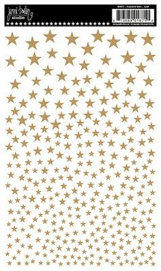 New rub-ins from Jenni Bowlin. New for CHA-W 2014. Scattered Stars.