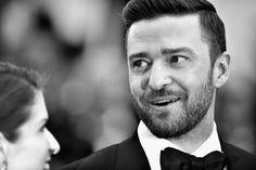 Pin for Later: Il N'y a Rien de Plus Glamour Que le Festival de Cannes en Noir et Blanc  Justin Timberlake