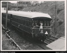 Singleton, C. C. [Royal Train at Thornleigh, New South Wales, 9 February 1954. Well blow me down. I had no idea that HRH passed through the suburb I grew up in..mind you I didn't make the scene until 1957.