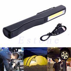 8 LED Lumière de Travail Lampe d/'inspection voiture garage extérieur camping torche lumière clignotante