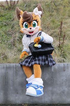 Nippon Professional Baseball, Baseball Mascots, Anime Furry, Costume Collection, Fursuit, Mascot Costumes, Skateboard, Kawaii