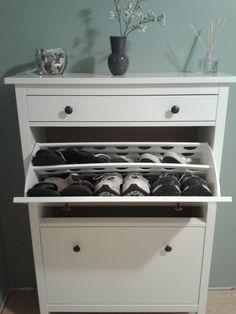 My new Ikea shoe cabinet!