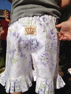 Shabby Addie Shorties by Caswellandcompany on Etsy, $16.00