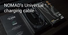 NOMADs new Universal charging cable providing you with USB-A Lightning and Type-C - http://wp.me/p7vS8f-wn #chargingcable #lightning #nomad #review #typec #universalcable #usb