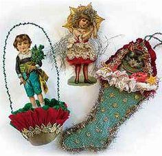 Antique Christmas Ornaments.