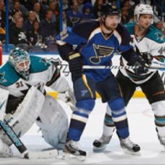 St. Louis Blues win 3-1 against San Jose Sharks...and on to the next round :)