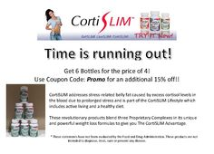 CortiSLIM addresses stress-related belly fat caused by excess cortisol levels in the blood due to prolonged stress and is part of the CortiSLIM Lifestyle which includes active living and a healthy diet. These revolutionary products blend three Proprietary Complexes in its unique and powerful weight loss formulas to give you The CortiSLIM Advantage.