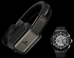 #Monster teams up with #Hublot to create $2,275 luxury Inspiration noise canceling headphone