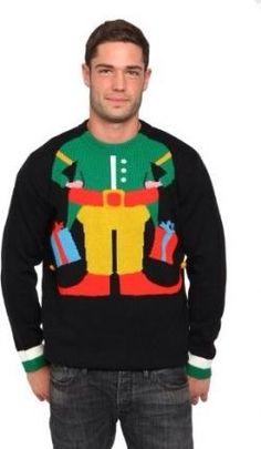 Men's ugly sweater